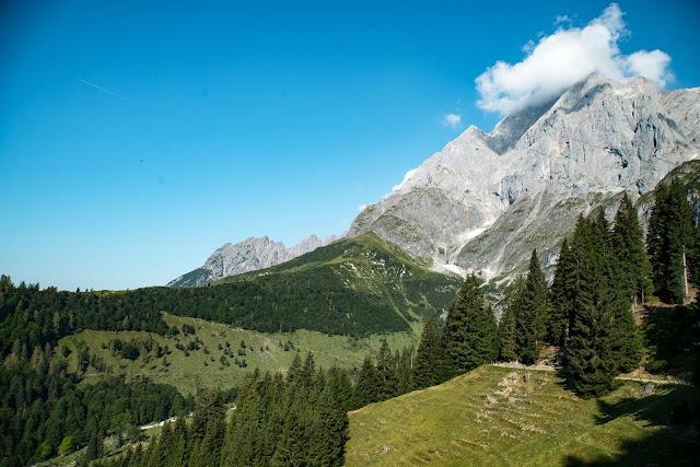 Vier-Hütten-Wanderung Mühlbach  Wandern am Hochkönig  Wanderung SalzburgerLand 07