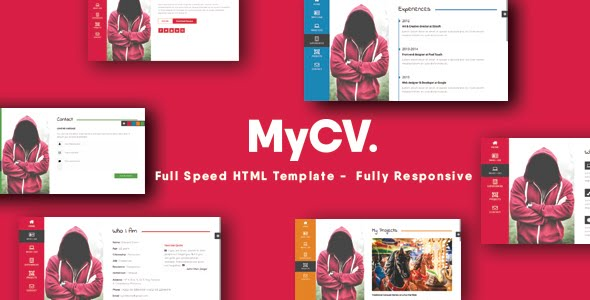 Mycv personal business card template download website templates mycv personal business card template accmission Image collections