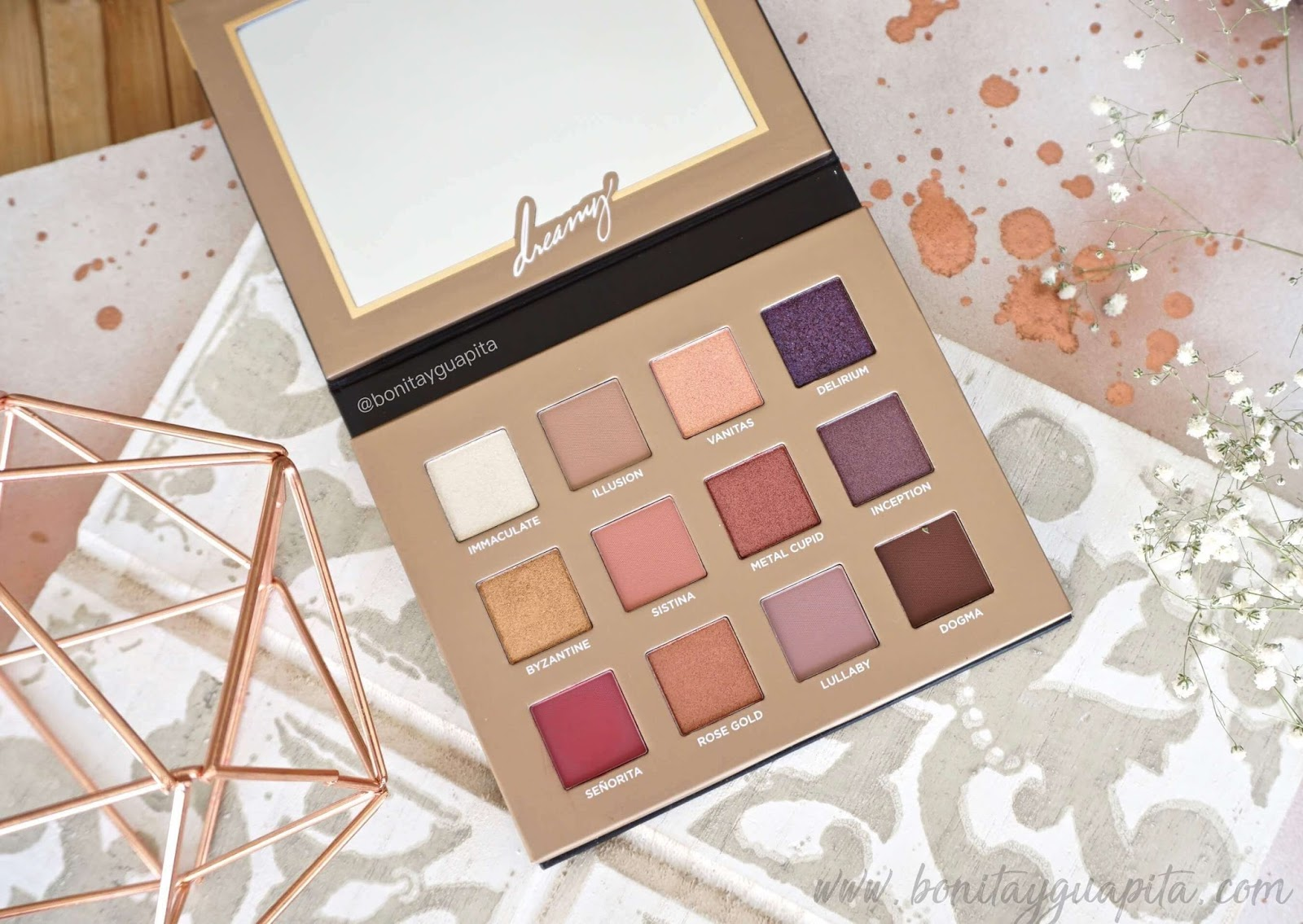 Dreamy Eyeshadow Palette Nabla