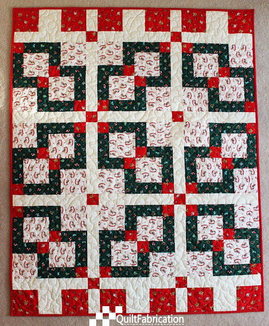 Kid's Christmas quilt