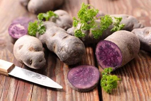 khasiat kentang ungu