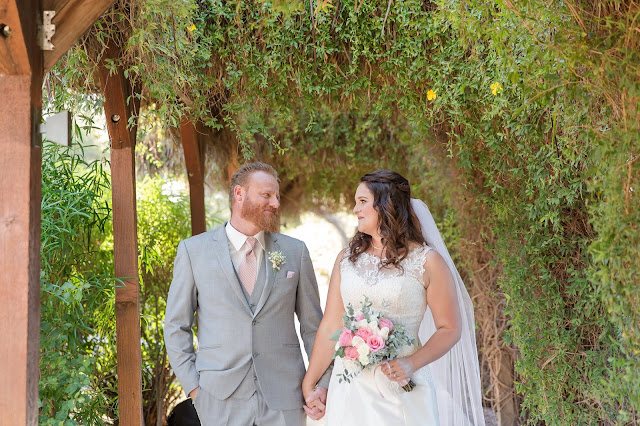 Shenandoah Mill in Gilbert AZ Wedding Photo of the bride and groom by Micah Carling Photography