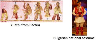 Облеклото на юеджите и българските национални костюми са еднакви