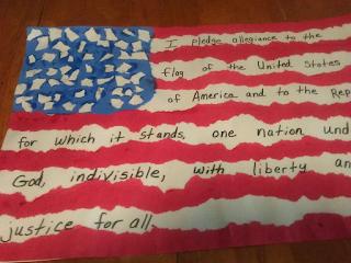 Pledge of Allegiance Activity
