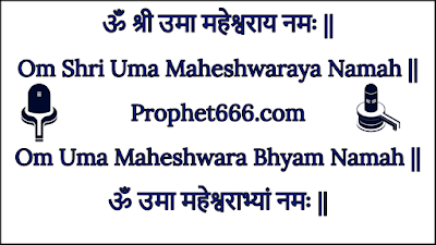 Wish Fulfilling Mantras of Shiva and Parvati