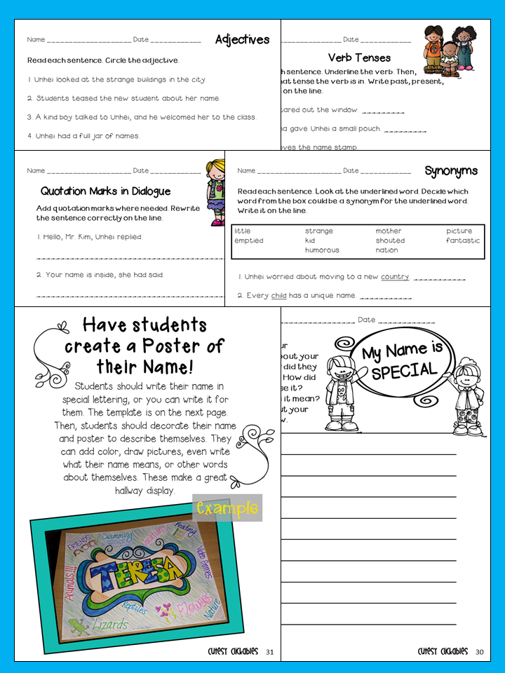 Collaboration Cuties: Two for Tuesday- Back to School Mentor Texts