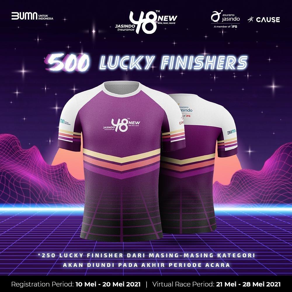 Jersey 👕 JASINDO Virtual Run & Ride • 2021