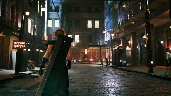 الكشف عن صورة جديدة لمقارنة رسومات لعبة Final Fantasy VII الأصلية و الريميك