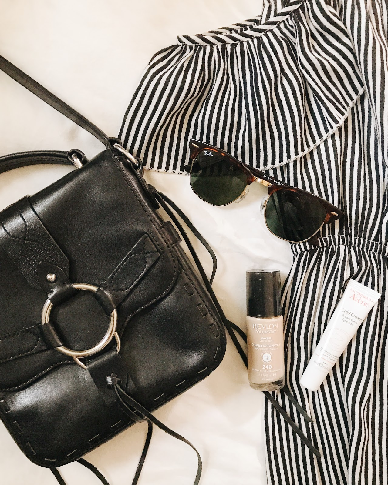 Summer Vacation Packing List & Tips // Rebecca Minkoff cross-body bag