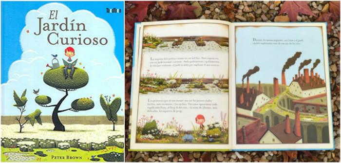 cuentos libro infantiles respetar cuidar medio ambiente el jardín curioso