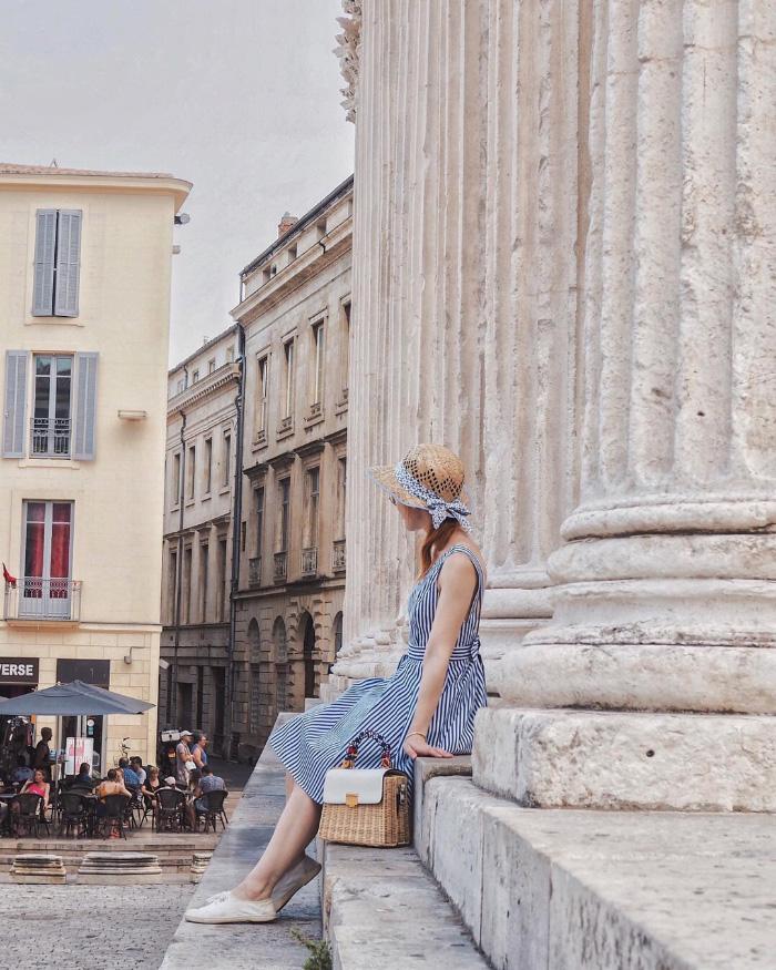 Découvrir la ville de Nîmes - la Maison Carrée
