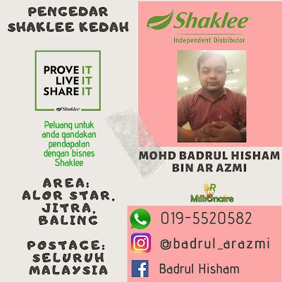 Pengedar Shaklee Jitra Kedah