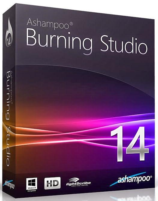 Cover Caratula Ashampoo Burning Studio 14