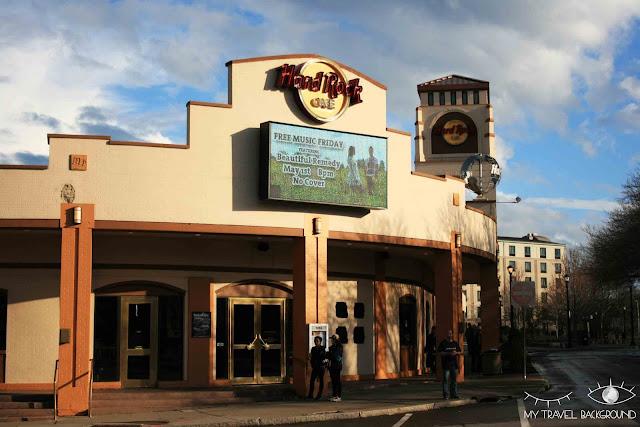 My Travel Background : 4 jours au Canada - Hard Rock Cafe Niagara Falls USA