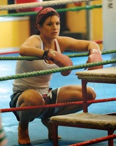 Gina Carano treino Gata   Gina Carano lutadora de MMA
