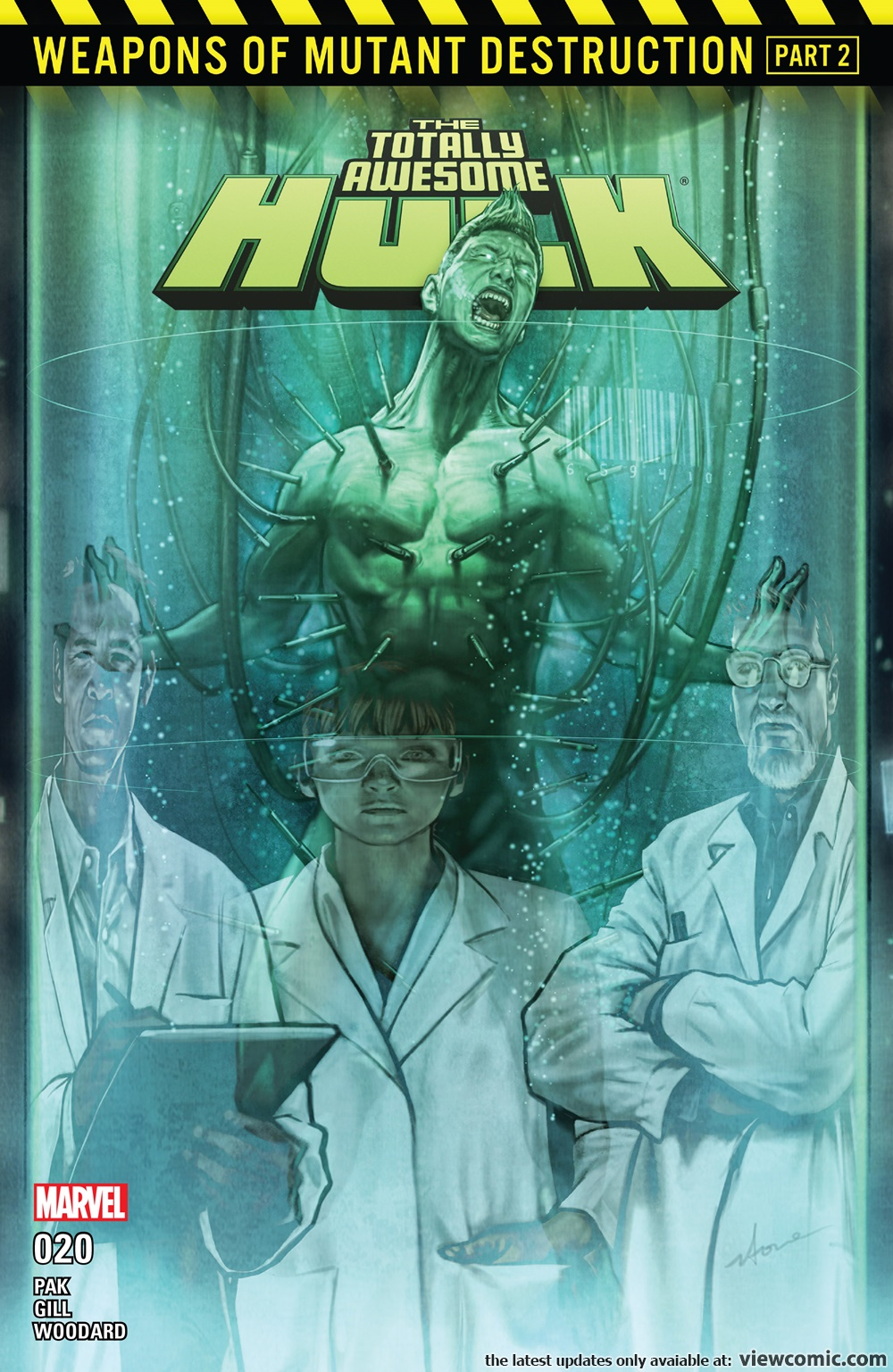 The Totally Awesome Hulk 020 (2017)  | Vietcomic.net reading comics online for free