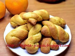 Κουλουράκια πορτοκαλιού - από «Τα φαγητά της γιαγιάς»