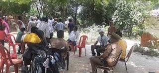 #JaunpurLive : प्रशासन ने मंदिर की जमीन पर हुए अवैध कब्जे को हटवाया