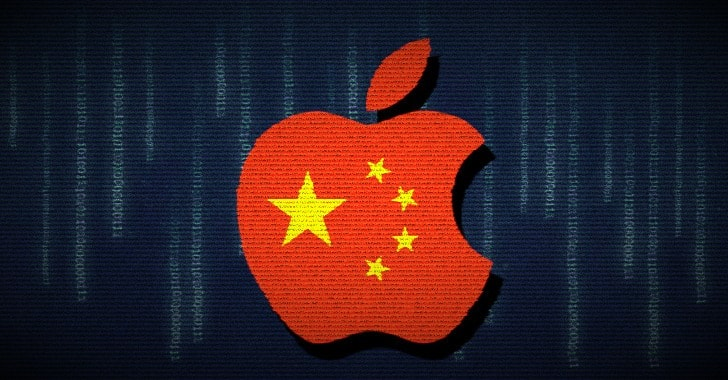 apple icloud data center in china