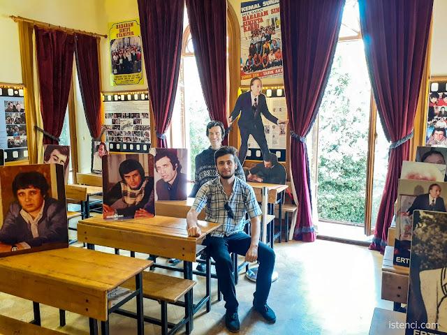 Harun İstenci Hababam Sınıfı Müzesinde...