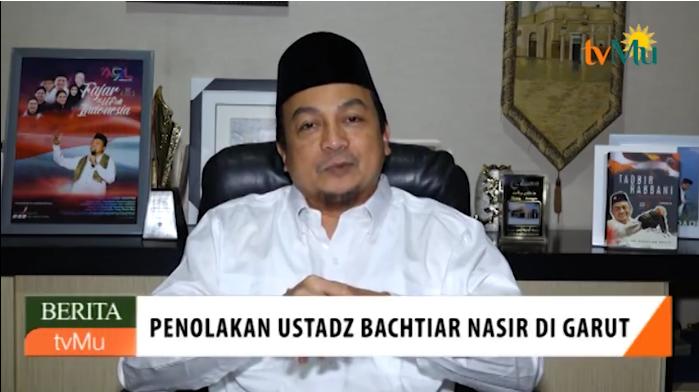 Mengejutkan... Ini Tanggapan Menyejukkan Ustadz Bachtiar Nasir Atas Penolakan PCNU Garut