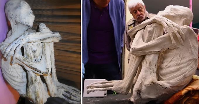 Bizarre Three-Fingered Ancient Alien Mummies Found in Peru, Analyzed (VIDEO)