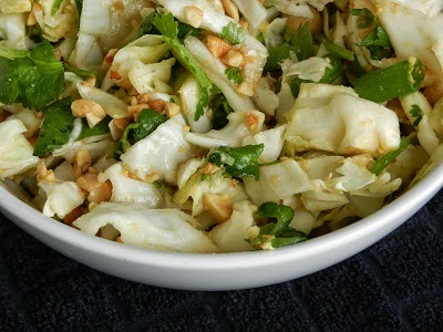 FOR THE LOVE OF GRUB: SPICY CILANTRO PEANUT SLAW