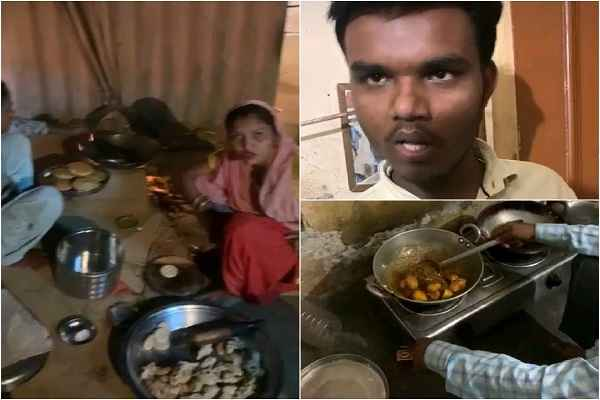 parshad-ajay-bainsla-reached-for-help-food-already-cooking-video