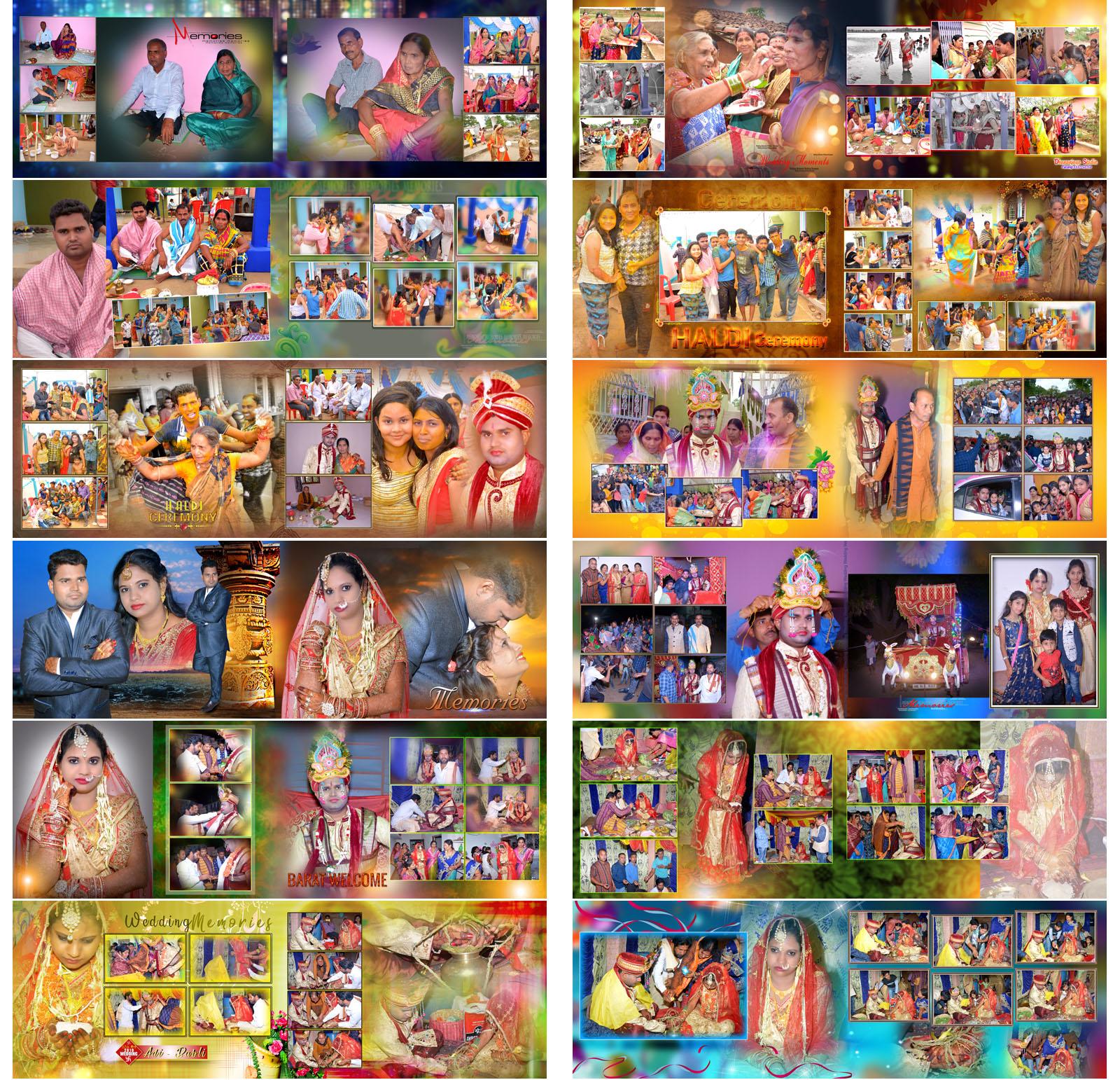 Canvera,Bandhan ,karizma Wedding album