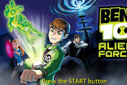 Ben 10  Alien Forces PPSSPP