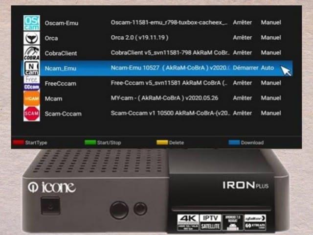 احدث اصدار بلوجين NCam-Emu - 10527 لأجهزة ايكون icon الكورية