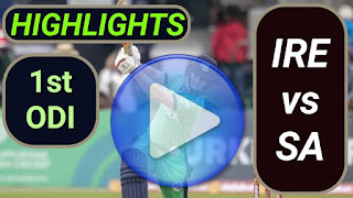 IRE vs SA 1st ODI 2021