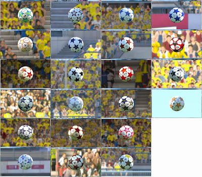 PES 2014 Champions League Balls by danyy77