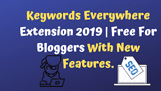 Keywords Everywhere Extension 2019