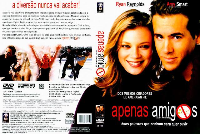 Capa DVD Apenas Amigos