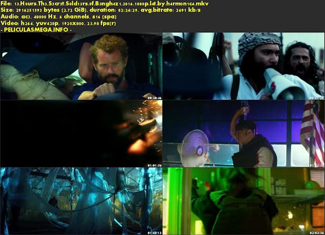 Descargar 13 Horas: Los soldados secretos de Bengasi Latino por MEGA.