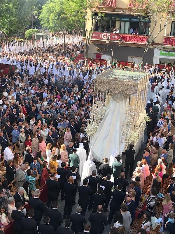 Banda de Música de Dos Hermanas Santa Ana acompañará a la Virgen de la Paz de Sevilla