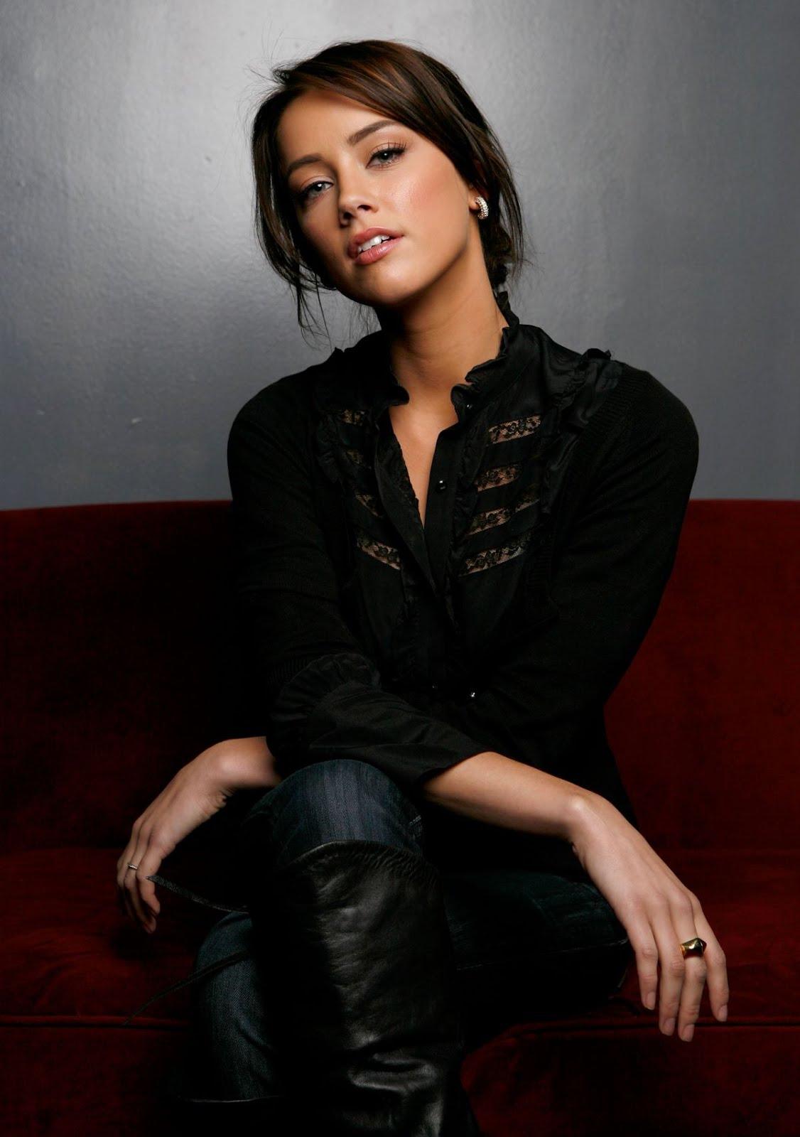 Amber Heard Sundance 2009 portraits