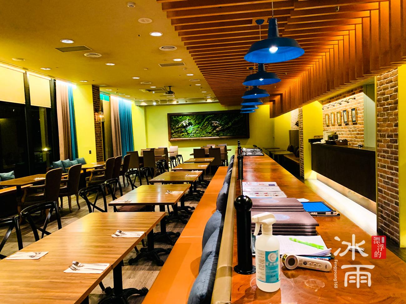 陽明山天籟渡假酒店|超多座位的餐廳