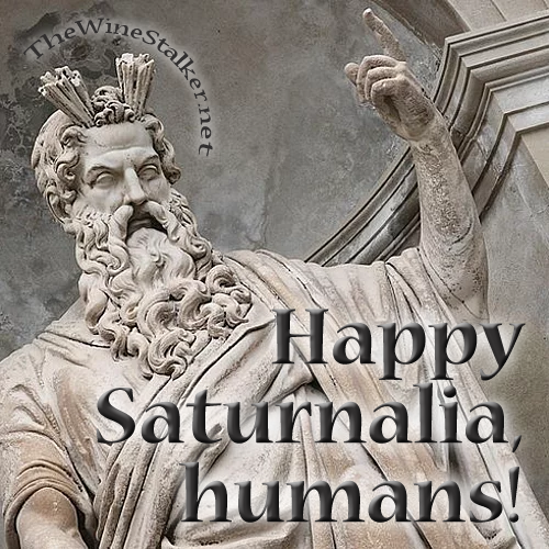 Happy Saturnalia, humans!