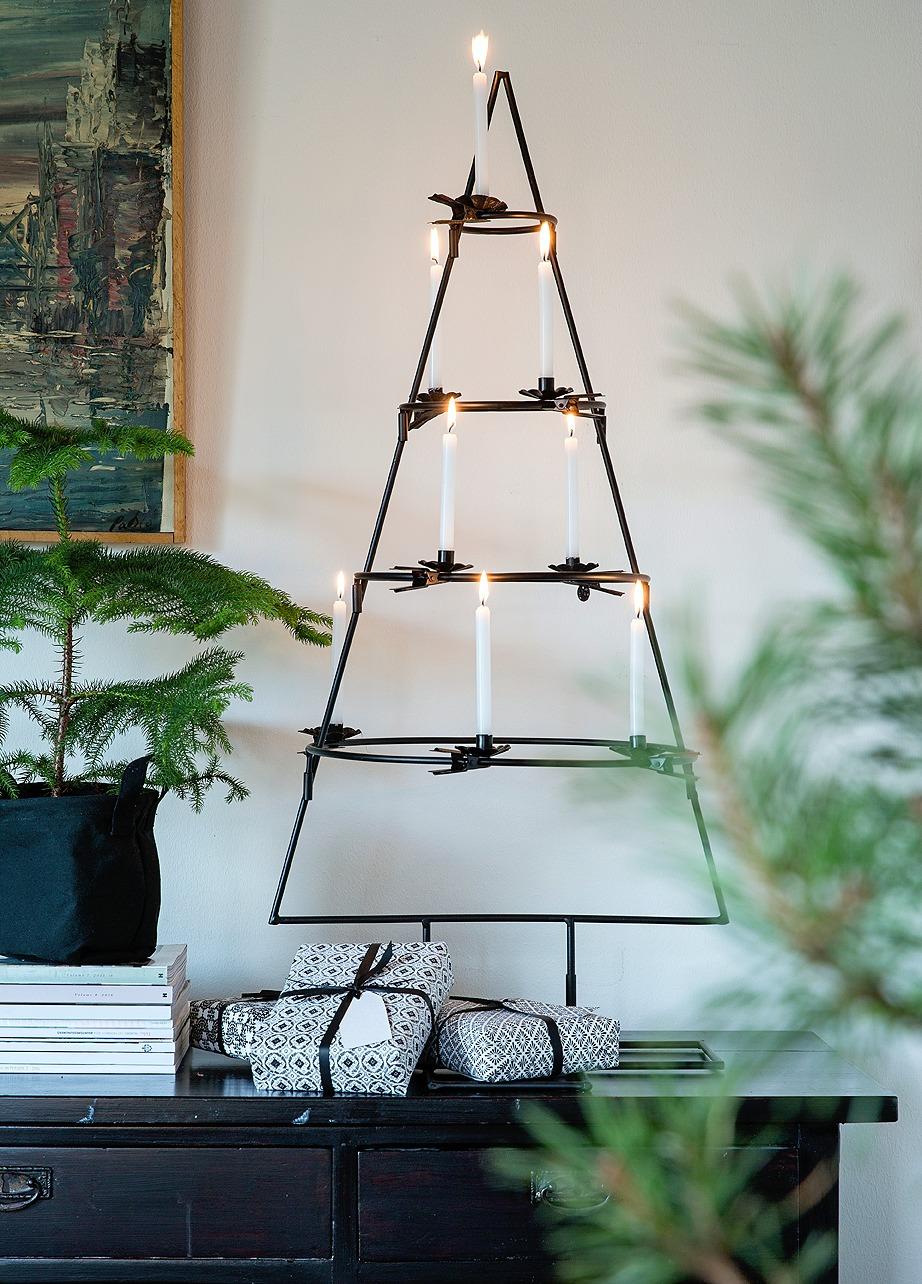sisustus, joulu, kuusi, joulukuusi, kynttilät, kuusenkynttilät, syksy, sisustaminen