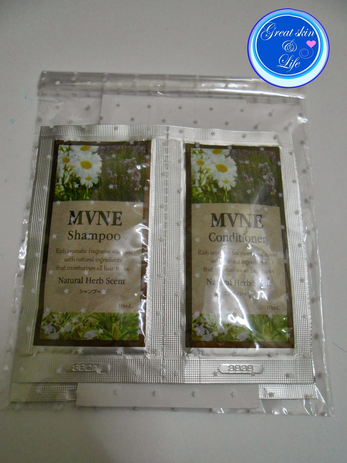MVNE SHAMPOO AND CONDITIONER