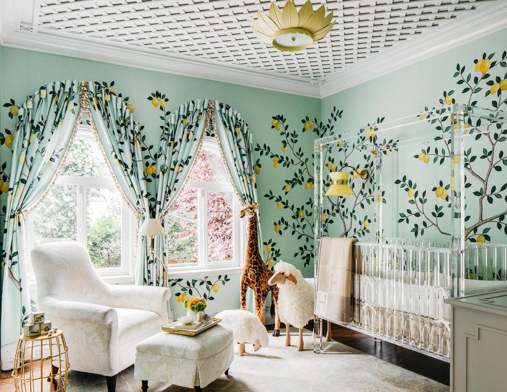 "Décor Inspiration | SF Showcase 2018: ""Lemondrop Lullaby"" by Dina Bandman Interiors"