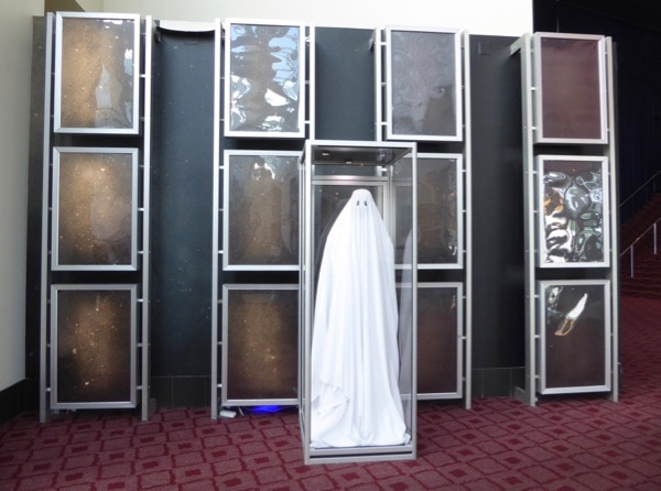 A Ghost Story movie costume exhibit