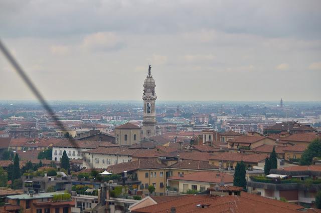 Bergamo panorama miasta gdzie zobaczyć?