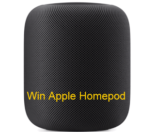 Win Apple Homepod