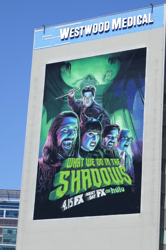 Giant What We Do in Shadows season 2 billboard