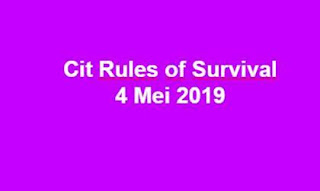 Link Download File Cheats Rules of Survival 4 Mei 2019