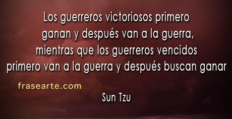 Los guerreros victoriosos - Sun Tzu - El Arte de la Guerra