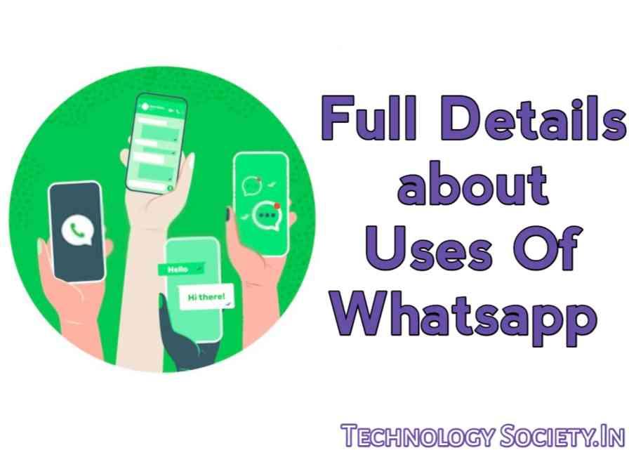 Use of whatsapp